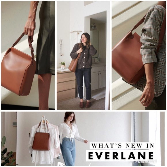 Everlane Bags Form Bag Cognac Poshmark